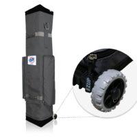 E-Z Up ES100 Roller Bag Wheel Detail