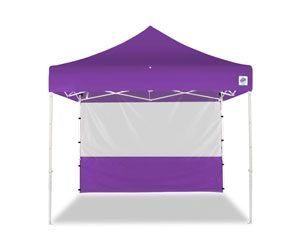 10x10 Food Booth Sidewall