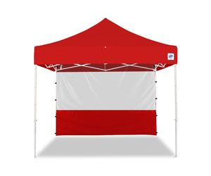 8x8 Food Booth Sidewall