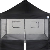 Food Booth Sidewall Pack Front with Windows