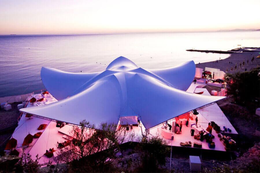 event tent practicalities