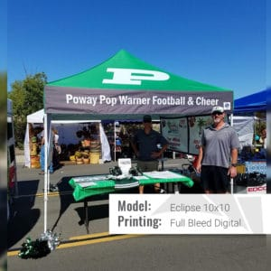 eclipse dt football tent