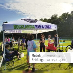 pyramid cycling tent