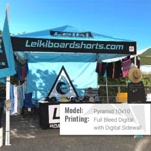 pyramid dtds retail tent