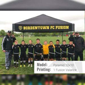 pyramid fv soccer tent