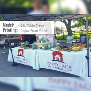 table throw front digital farmers market