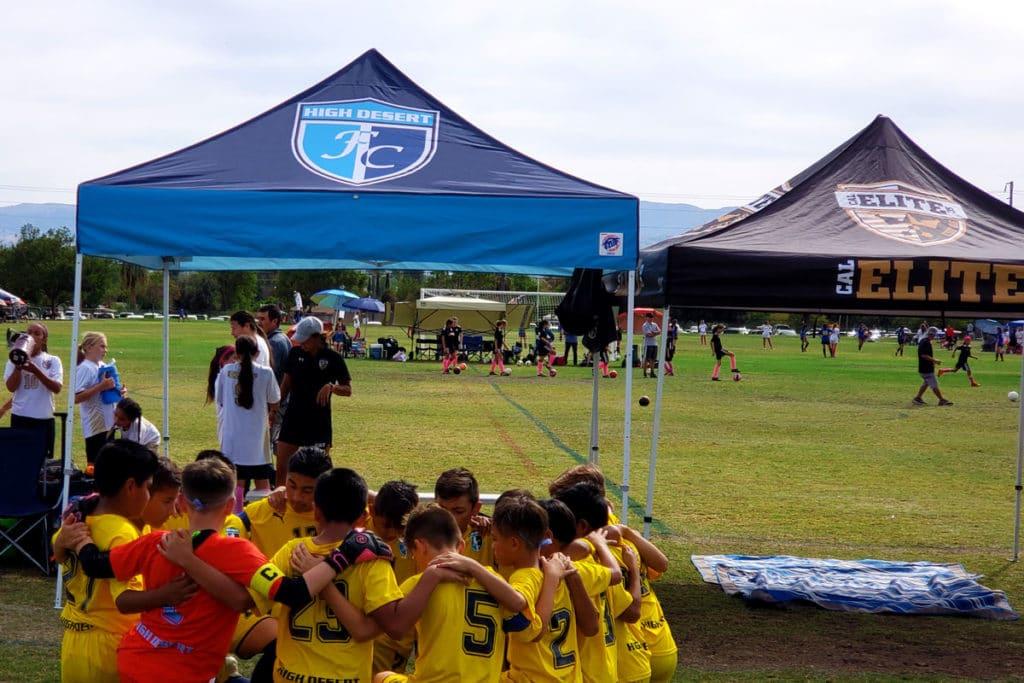 Buyshade Futbol Club pop up tent