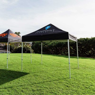 custom tents example of 10x10